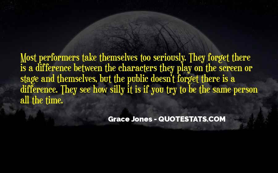 Quotes About Grace Jones #586828