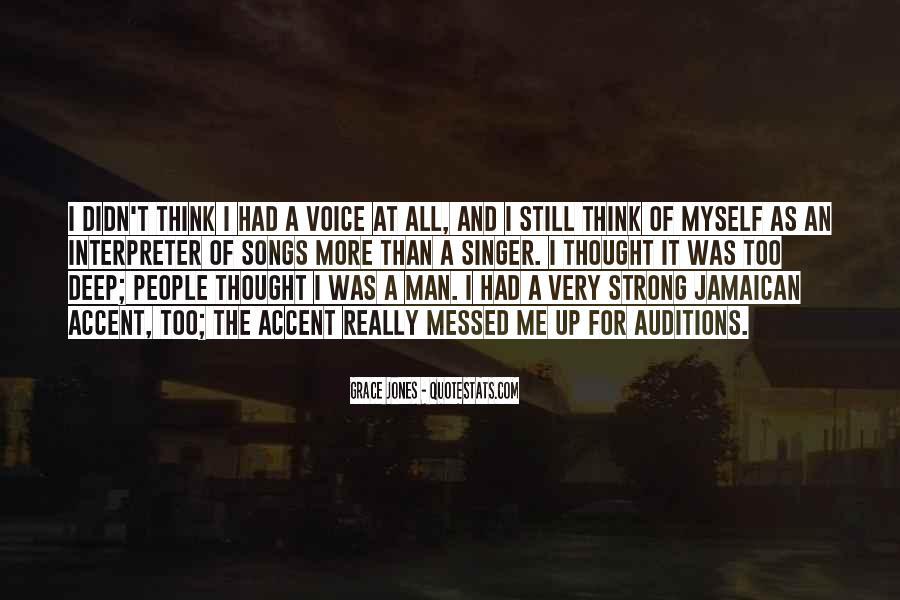 Quotes About Grace Jones #599521