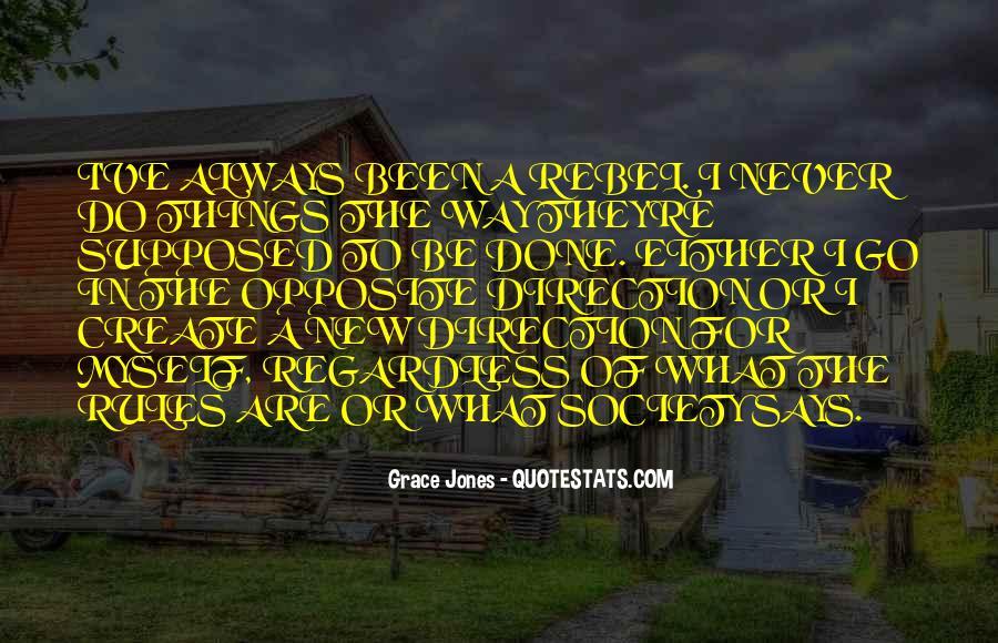 Quotes About Grace Jones #624796
