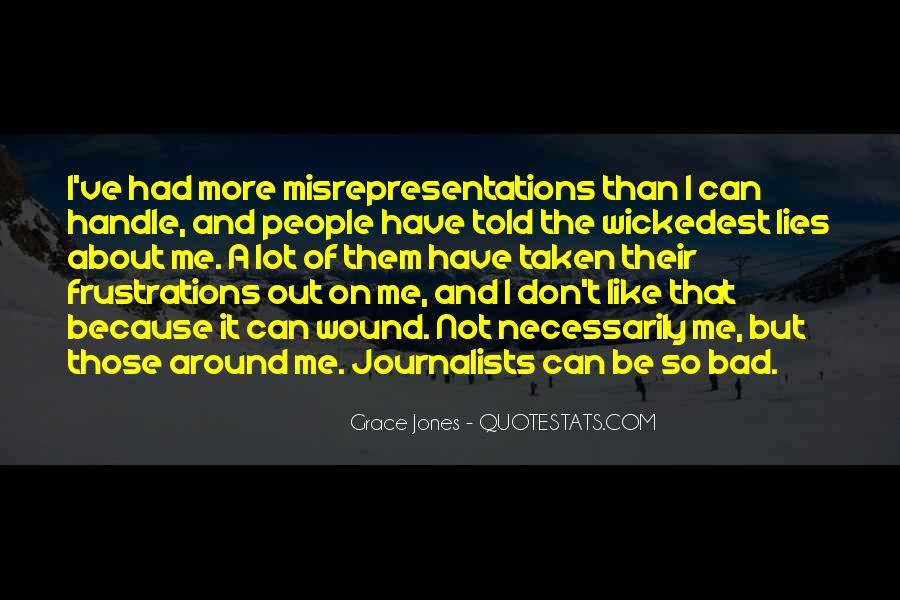 Quotes About Grace Jones #818836