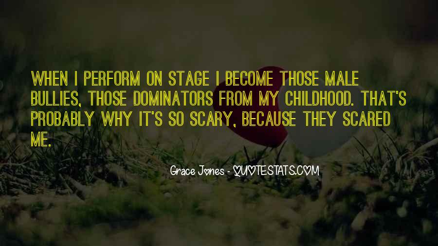 Quotes About Grace Jones #871670