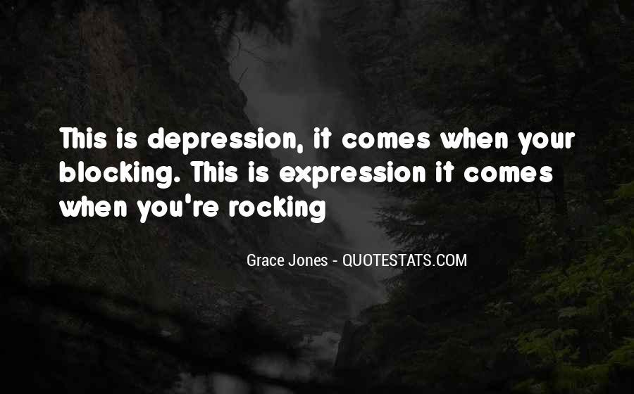 Quotes About Grace Jones #91365