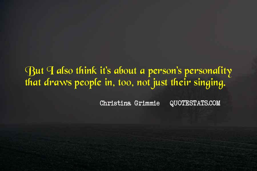 Quotes About Christina Grimmie #474262