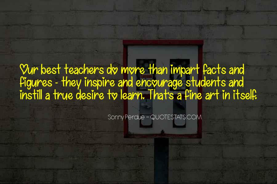 Teachers Inspire Students Quotes #222364