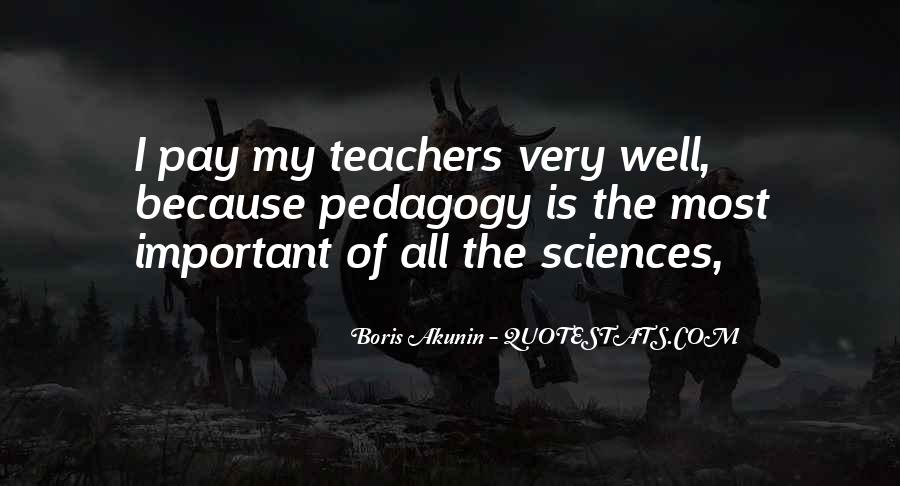 Teachers Pay Quotes #213133