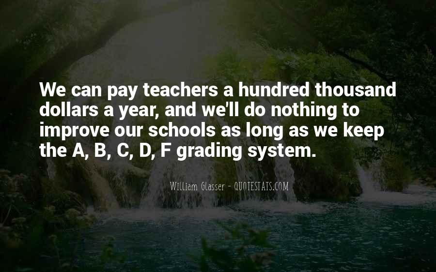 Teachers Pay Quotes #874005