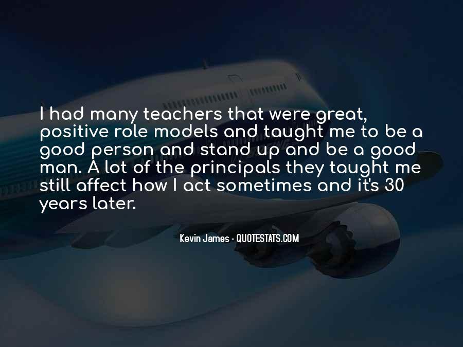 Teachers Role Models Quotes #805336