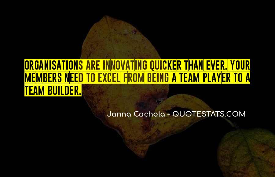 Team Builder Quotes #841933