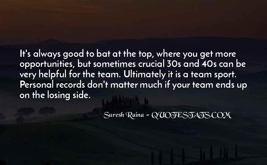 Team On Top Quotes #531820