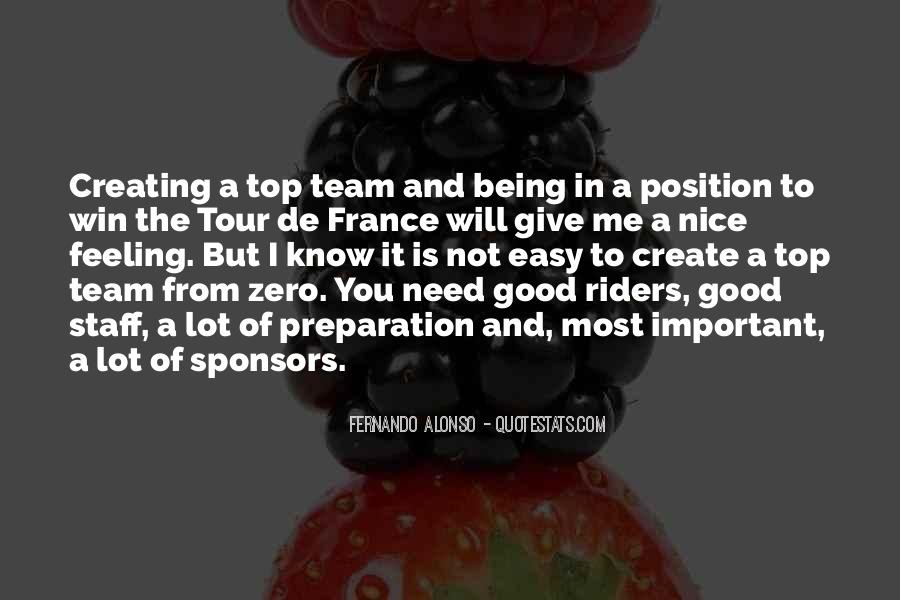 Team On Top Quotes #777344