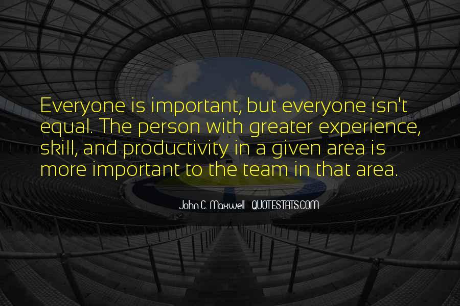 Team Productivity Quotes #427277