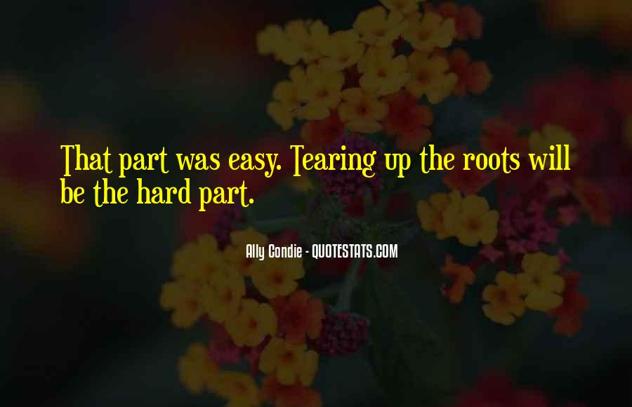 Tearing Up Quotes #1317890