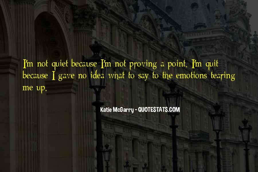 Tearing Up Quotes #621054
