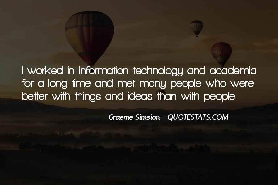 Technology Information Quotes #479137