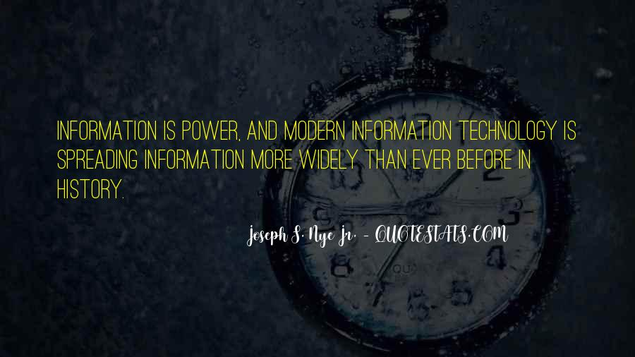 Technology Information Quotes #589430
