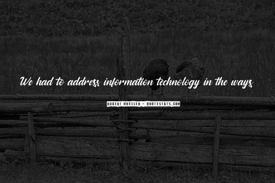 Technology Information Quotes #884863