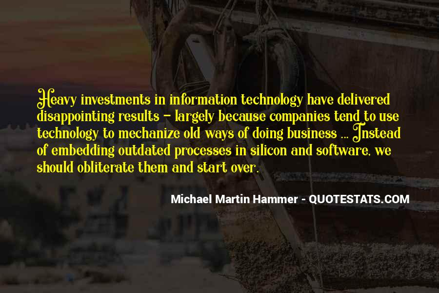 Technology Information Quotes #928406