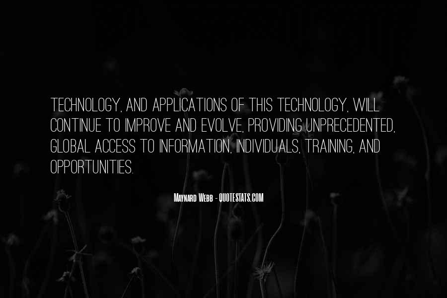 Technology Information Quotes #982047