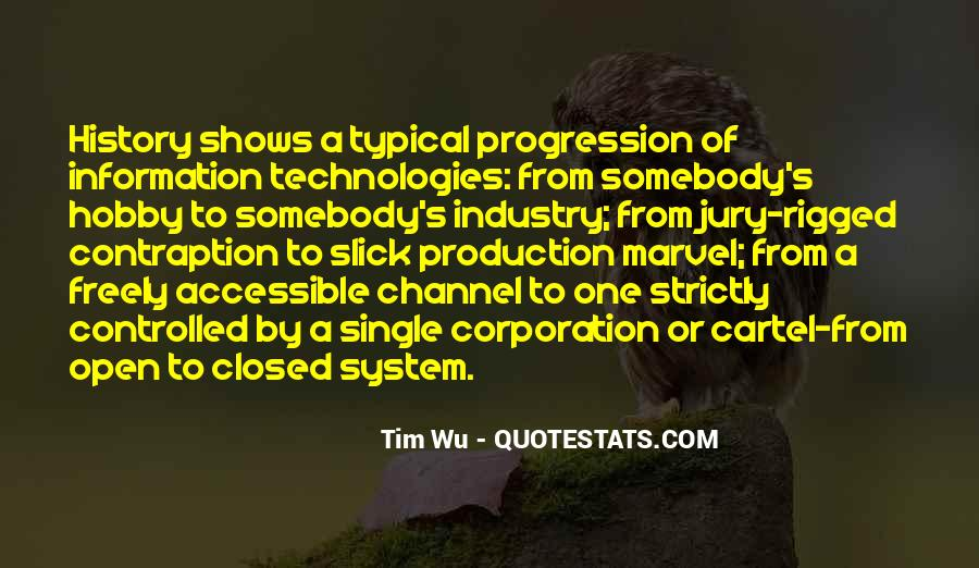 Technology Progression Quotes #1405203