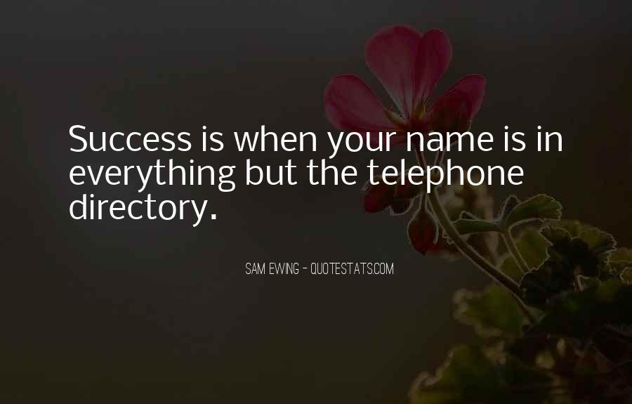 Telephone Directory Quotes #1096288
