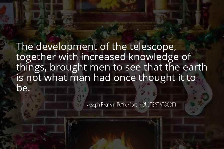Telescope Quotes #153706