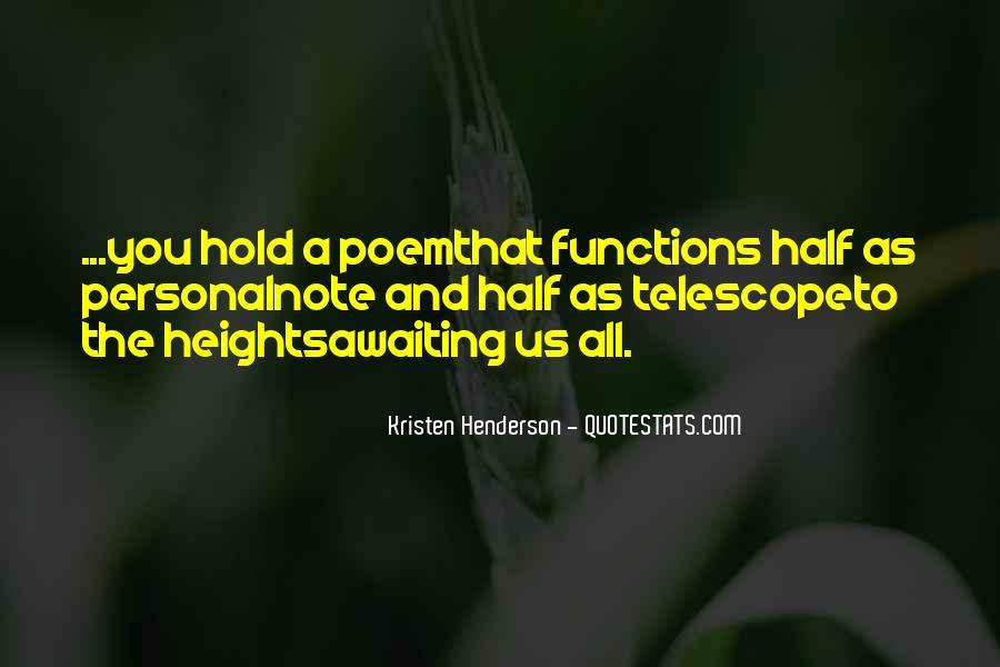 Telescope Quotes #453249