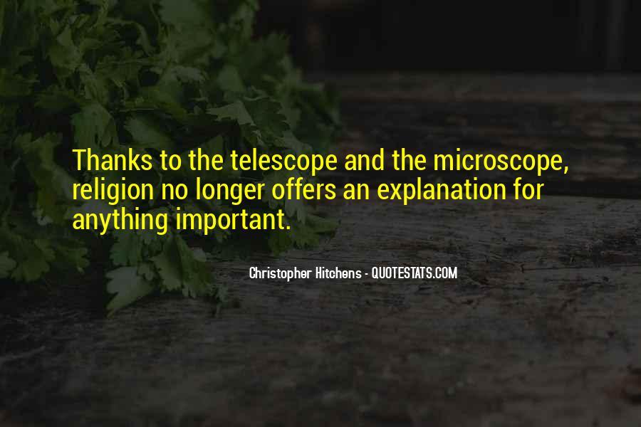 Telescope Quotes #608667