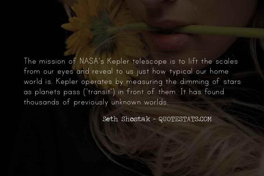 Telescope Quotes #64710