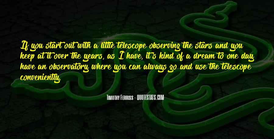 Telescope Quotes #887049
