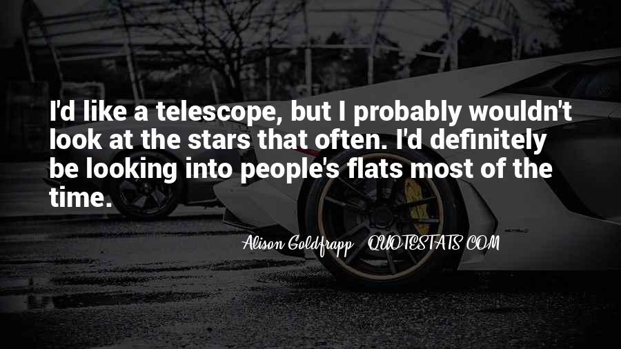 Telescope Quotes #996314