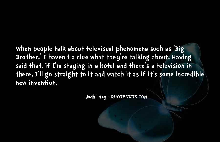 Television Invention Quotes #1663635