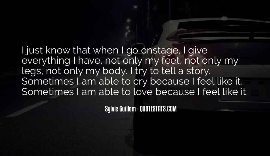 Tell Me If U Love Me Quotes #25932