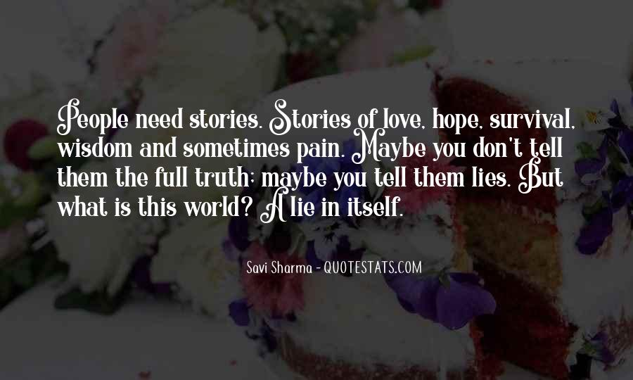 Tell The World You Love Me Quotes #1362870