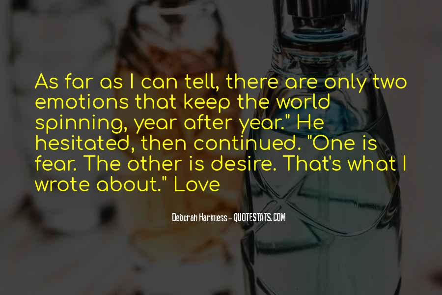 Tell The World You Love Me Quotes #352011