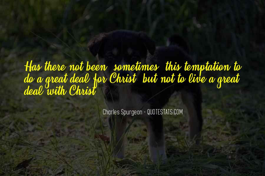 Temptation Of Christ Quotes #56359