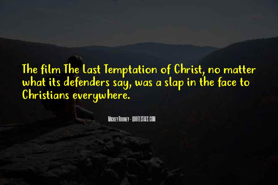 Temptation Of Christ Quotes #735483