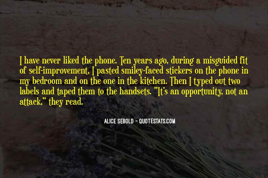 Ten Years Ago Quotes #1126489