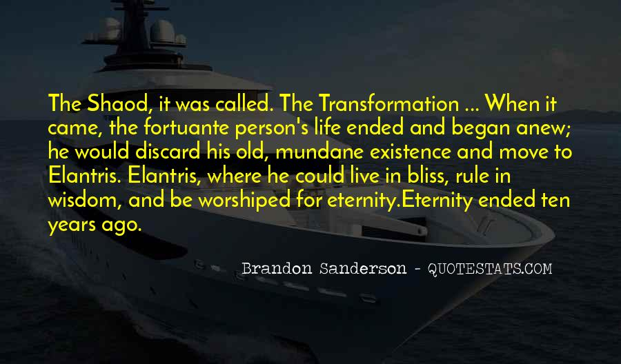 Ten Years Ago Quotes #1316259