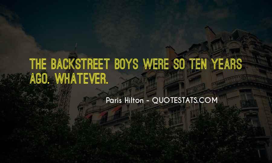 Ten Years Ago Quotes #37131