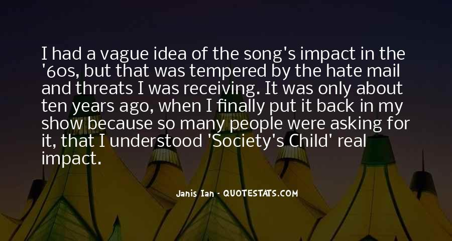 Ten Years Ago Quotes #569154