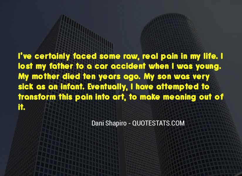 Ten Years Ago Quotes #833707