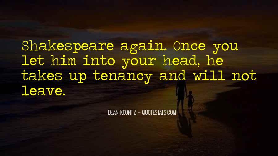 Tenancy Quotes #1277416