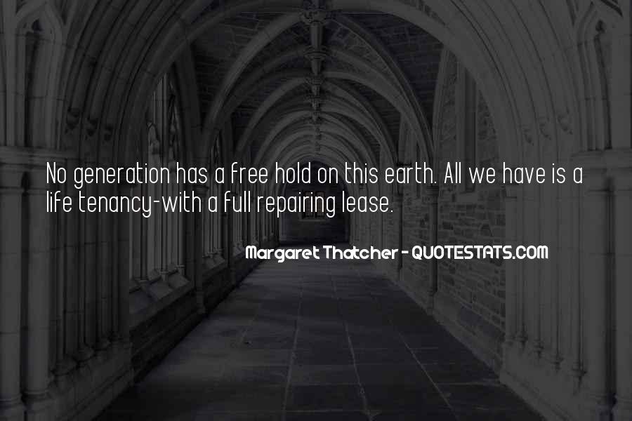 Tenancy Quotes #1432133
