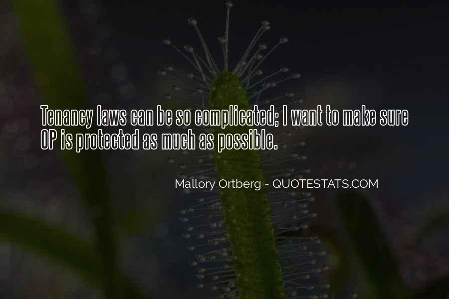 Tenancy Quotes #600221