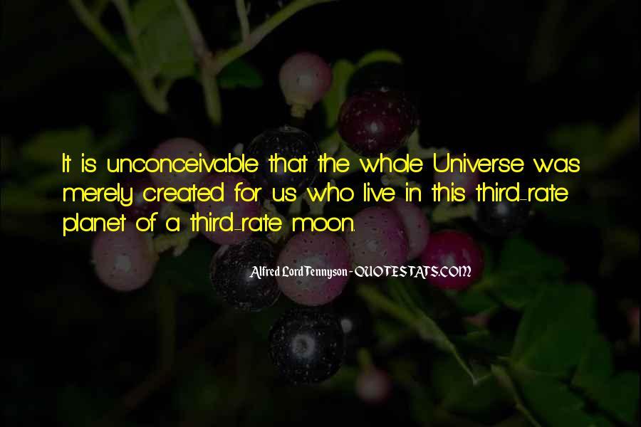 Tennyson Alfred Quotes #108497
