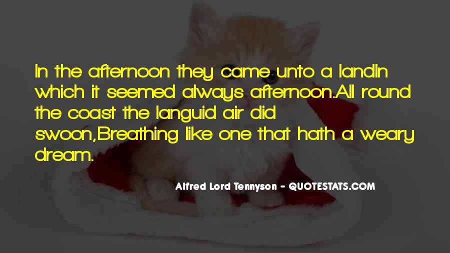 Tennyson Alfred Quotes #110063