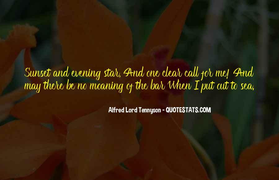 Tennyson Alfred Quotes #112783