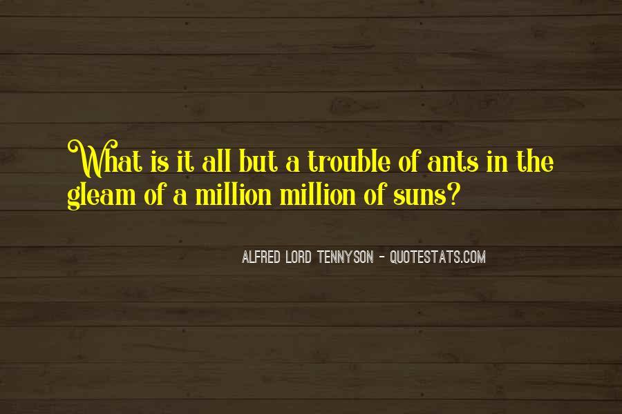 Tennyson Alfred Quotes #124495