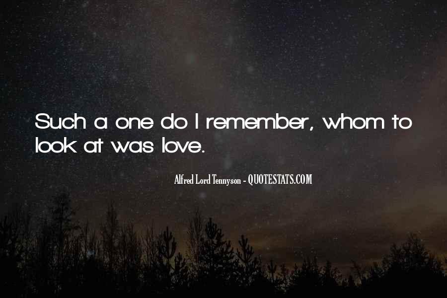Tennyson Alfred Quotes #128722