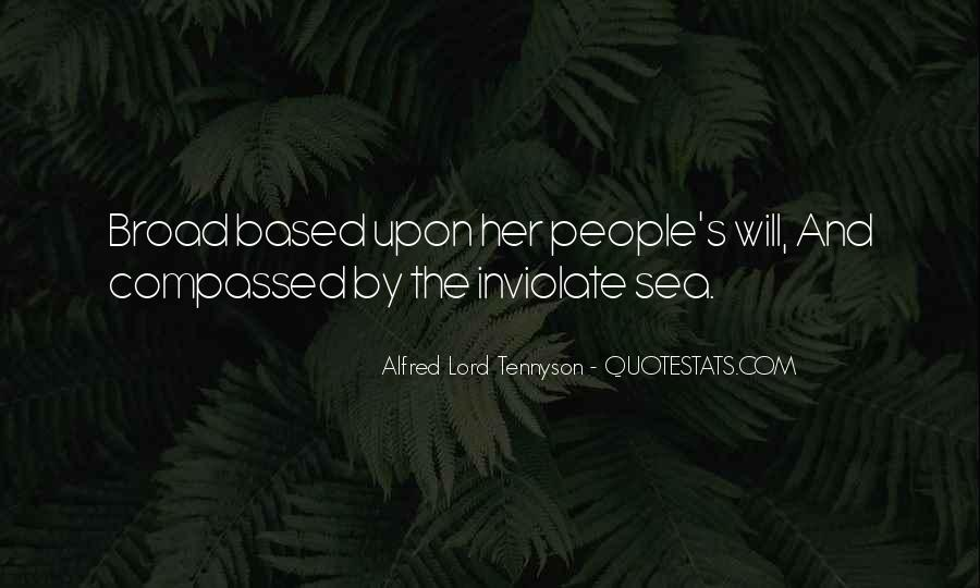 Tennyson Alfred Quotes #137776